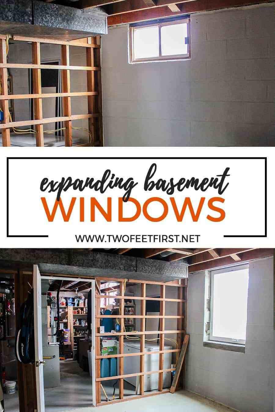 Photo of The process of enlarging basement windows