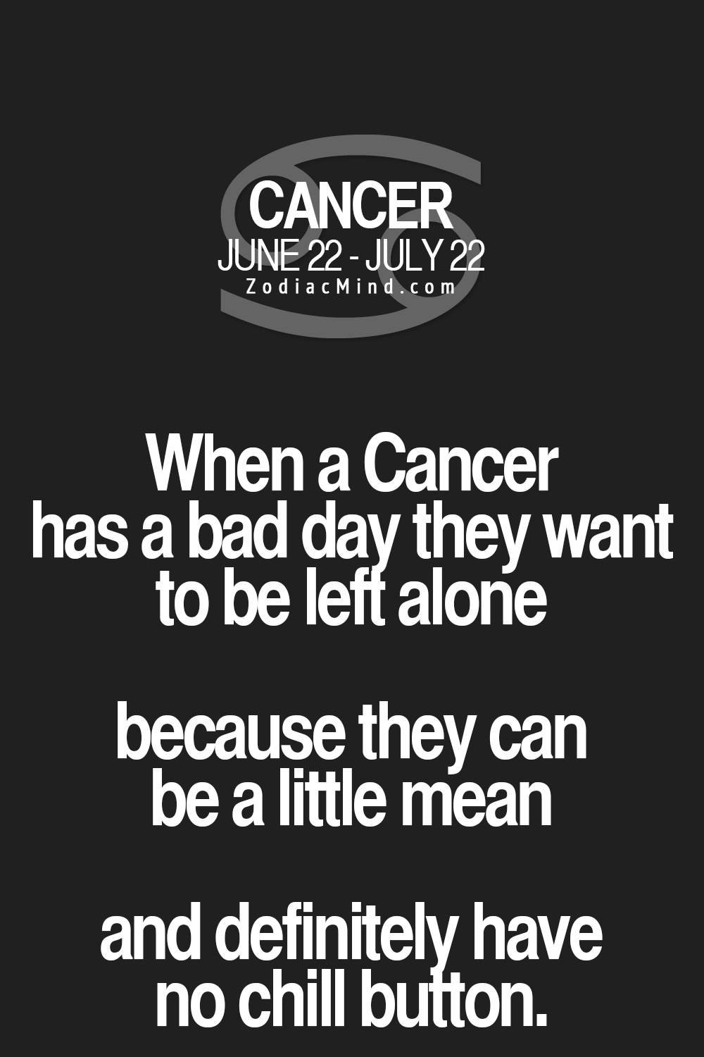 Cancer Zodiac Quotes Fun Facts About Your Zodiac Here  Check Your Zodiac Love .