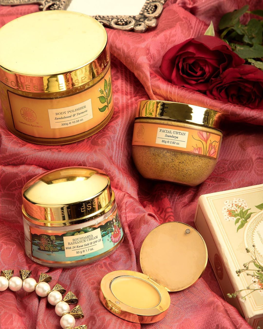 Why we love Forest Essentials Soundarya Radiance Cream