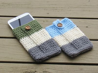 Customizable Tablet Case, Free Crochet Pattern for Father\'s Day ...