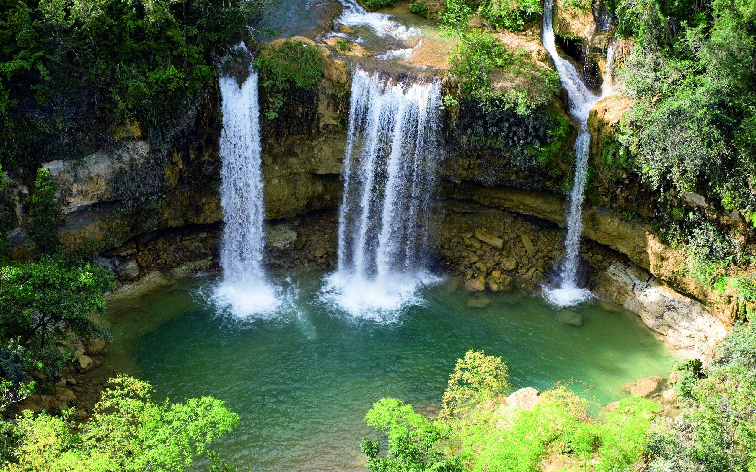 Nature Waterfall Wallpapers Hd Desktop And Mobile Backgrounds Waterfall Wallpaper Natural Waterfalls Waterfall