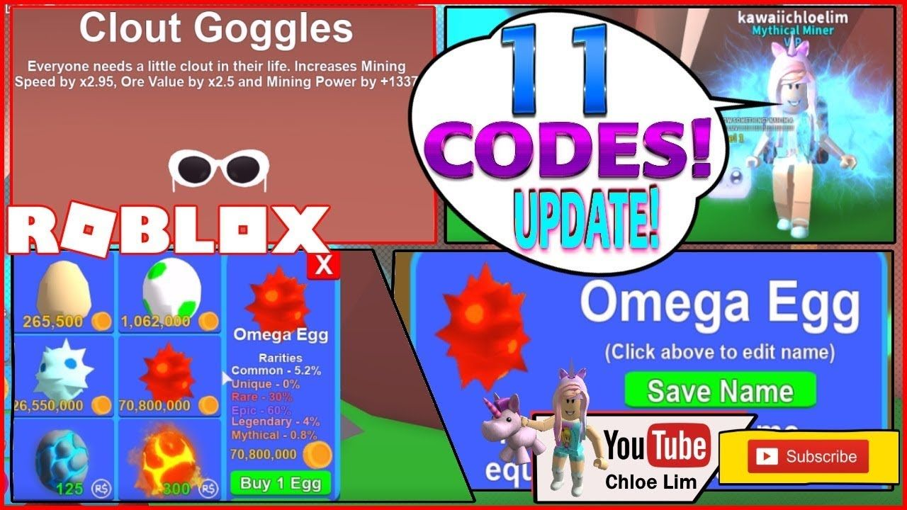 Roblox Mining Simulator Levels 11 Codes And New Updates Omega