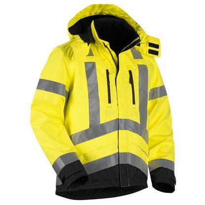 Blaklader 4937 Ansi Class 3 Hi Vis Shell Safety Jacket Jackets Shell Jacket Work Wear