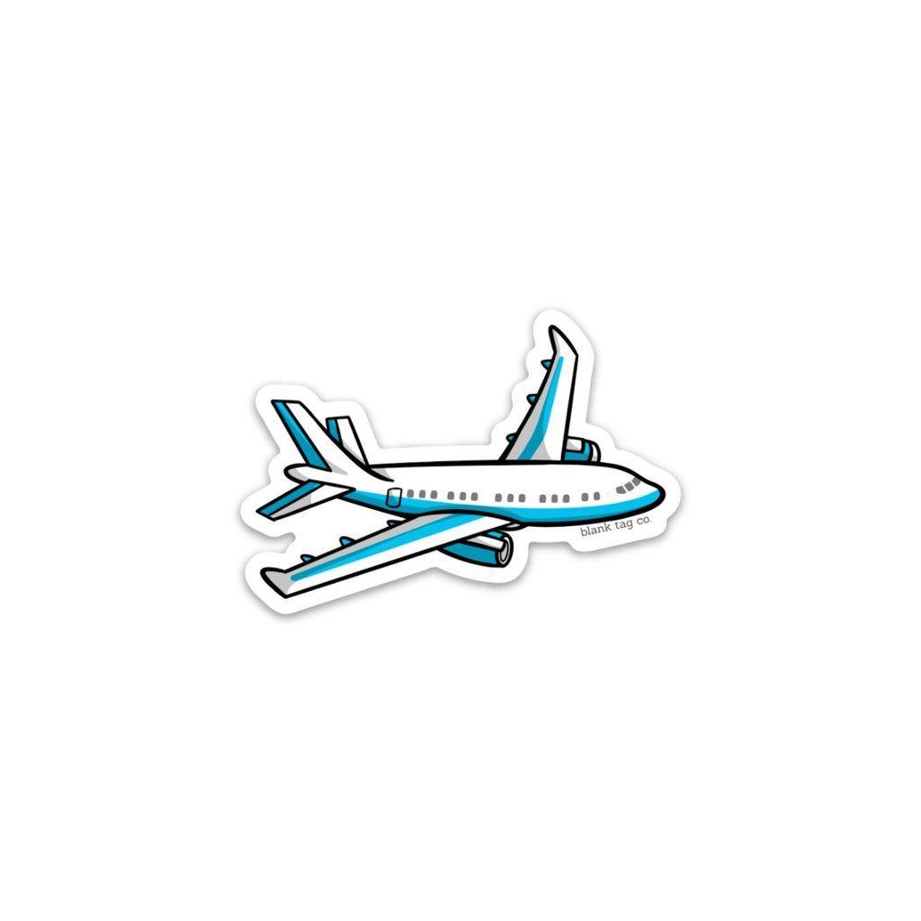 The Airplane Sticker Adesivos Para Impressao Adesivos Para