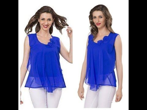 18038470803c Tunic Top - A fashionable Western Wear - Easy Marking