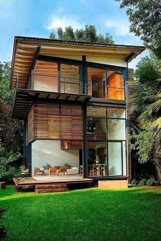 Casa De Tres Pisos Building A Container Home Modern