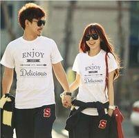 KKK011 Kaos Couple Enjoy Life T-Shirt.Baju Couple #Kaos #Kaoscouple #couple #love #travel #baju #bajucouple