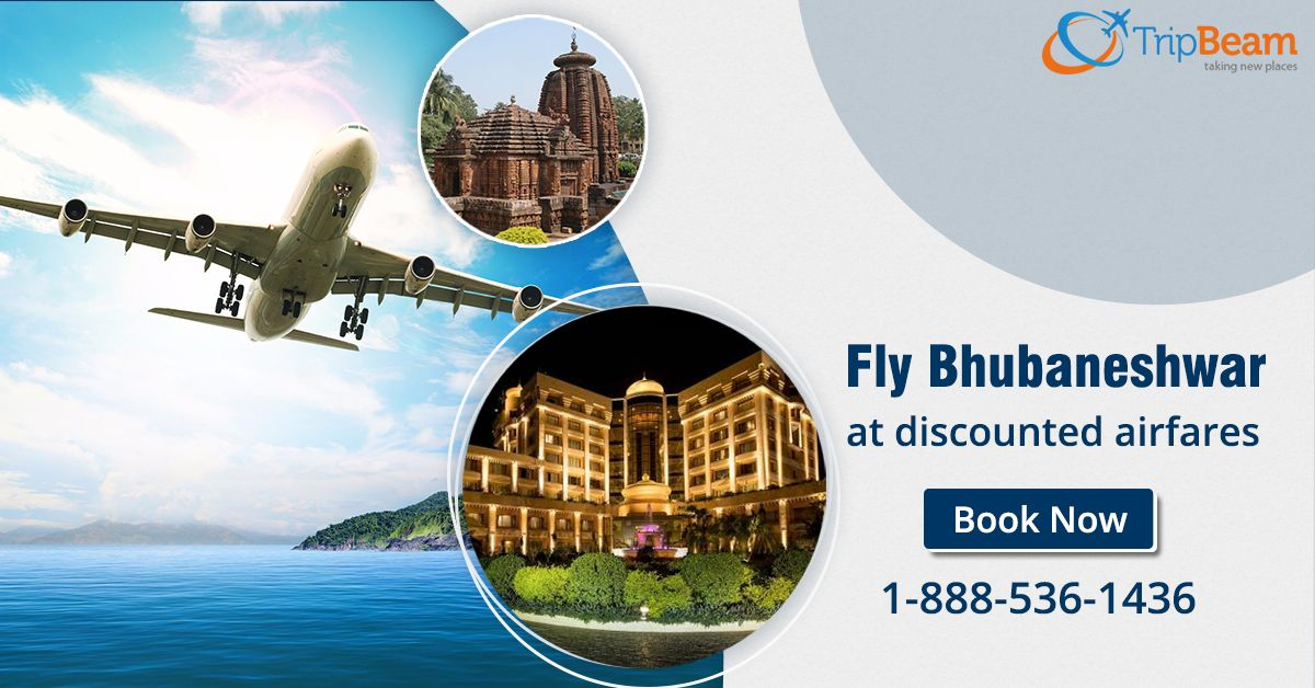 Fly #Bhubaneshwar at discounted airfares. Book Bhubaneshwar flights and enjoy great discounts on air tickets with Tripbeam!  For more information: Contact us at: 1-888-536-1436 (Toll-Free), info@tripbeam.ca.  #VisitIndia #VisitOdisha #VisitBhubaneshwar #CanadatoIndiaFlights #CanadatoIndiaFlightDeals #Vacations #Destinations #indians #India #Canada #TravelDeals #TravelOffers #DiscountedAirfare #CheapFlightBooking