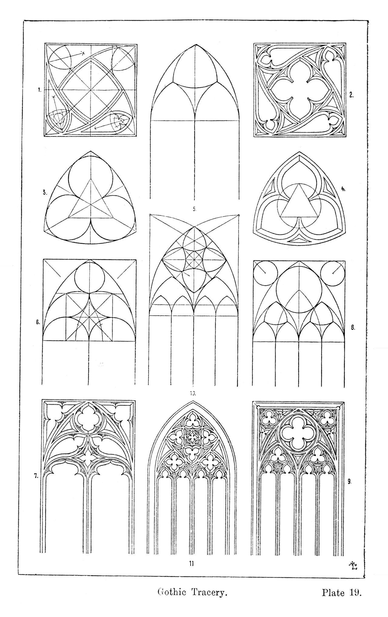 #Architecture drawing church #gothic #introduction #magazine #popular