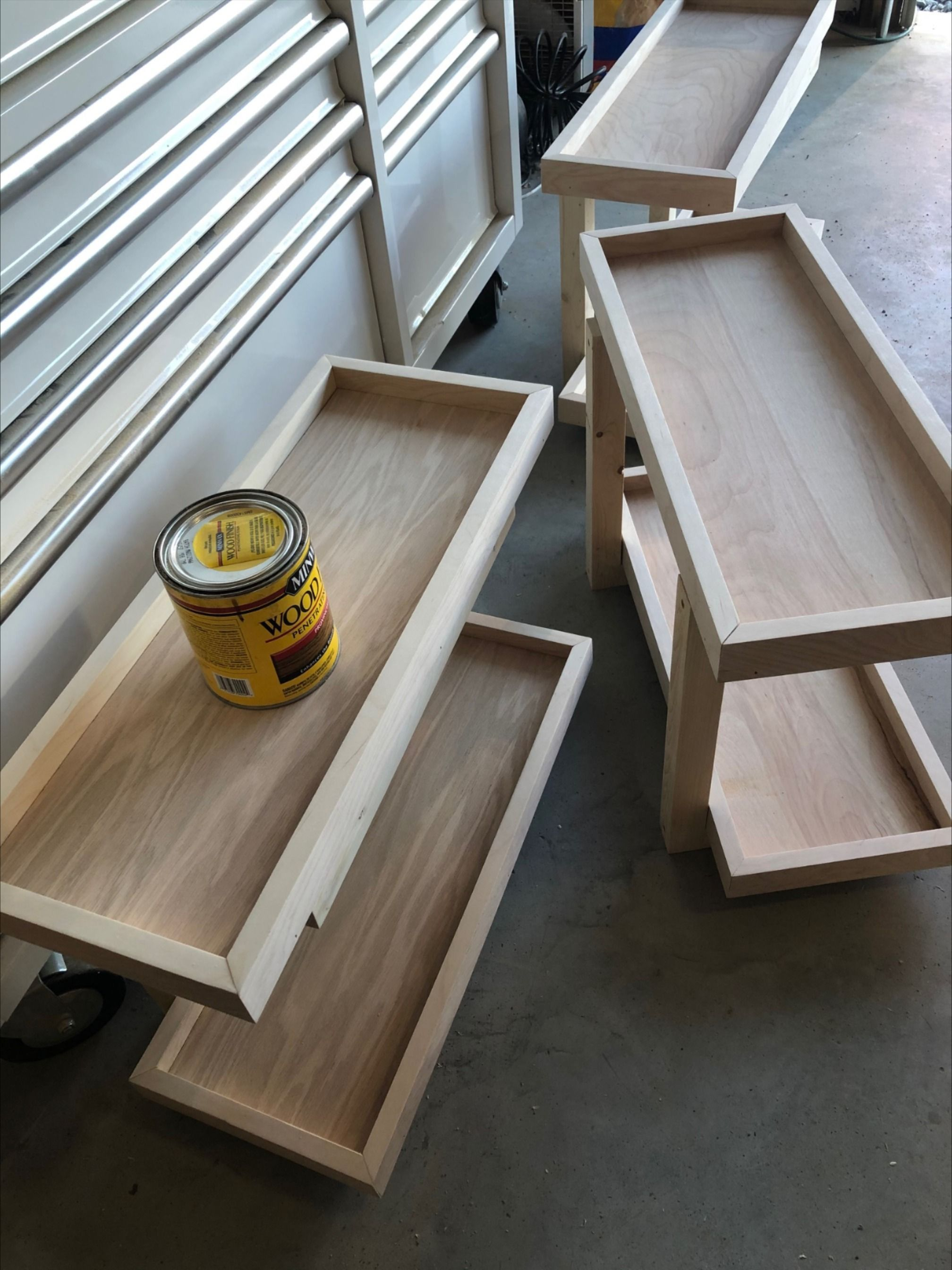DIY Scrap Wood Wall Shelves#diy #scrap #shelves #wall #wood