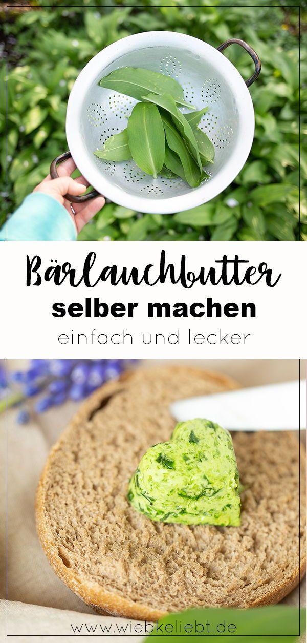 Bärlauchbutter mit Herz | DIY Blog | Do-it-yourself Anleitungen zum Selbermachen | Wiebkeliebt