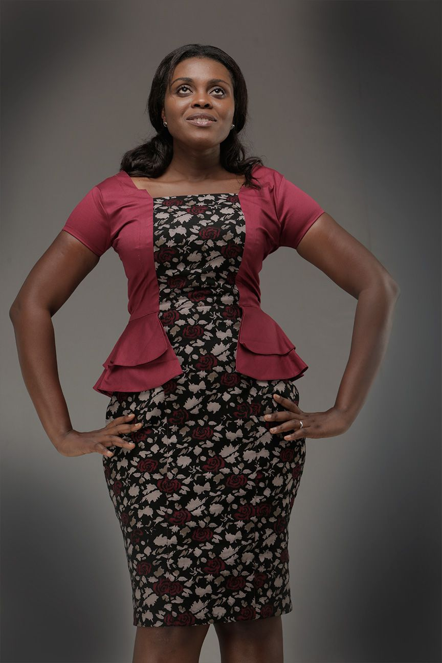 Dress A Befitting by sfBG Ghana Fashion Dress Clothes