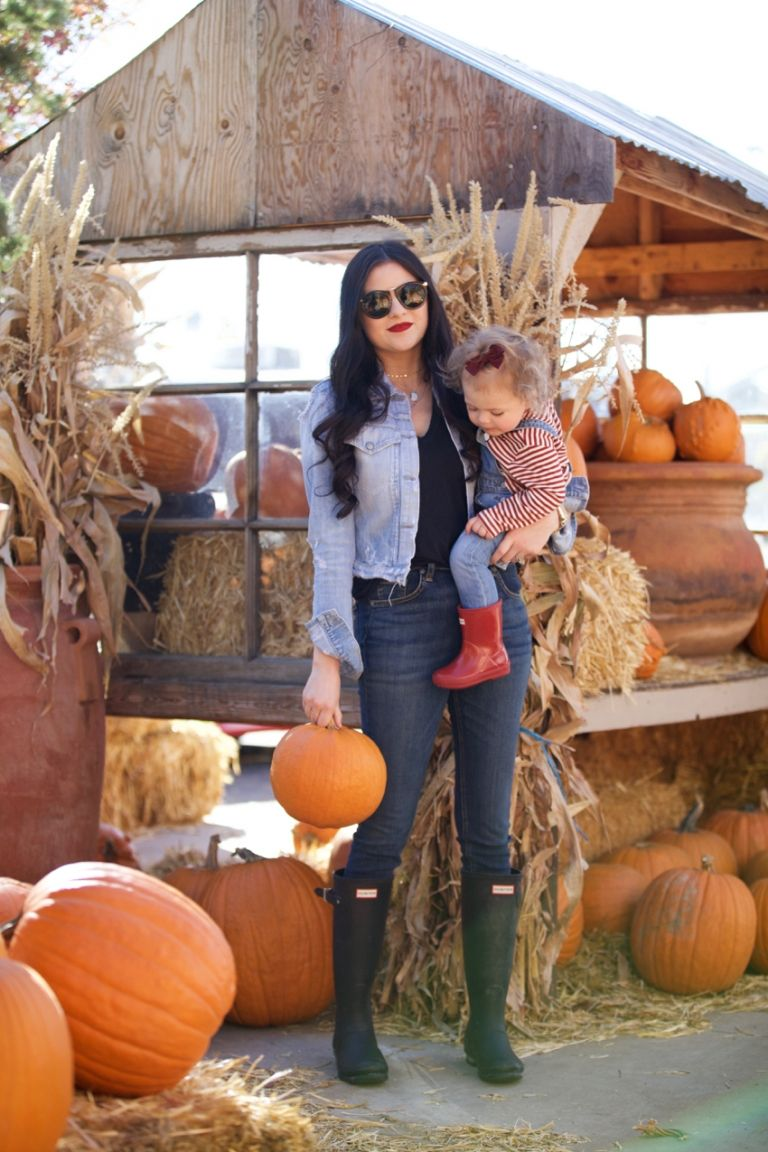 Trip to the Pumpkin Patch... - Rach Parcell