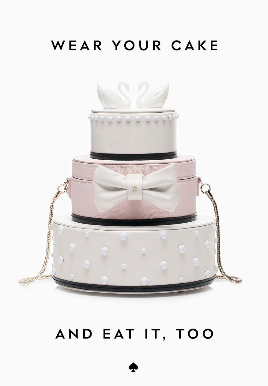 Bridal Shower Outfit Idea Wedding Cake Purse Kate Spade Weddings Courtesy Of