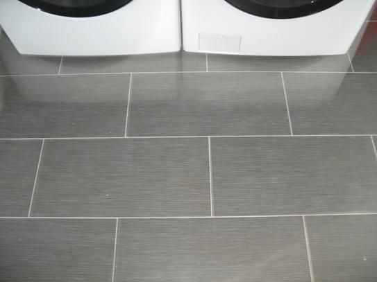 Ms International Metro Gris 12 In X 24 In Glazed Porcelain Floor And Wall Tile 16 Sq Ft Porcelain Flooring Small Bathroom Tiles Bathroom Tile Ideas Master