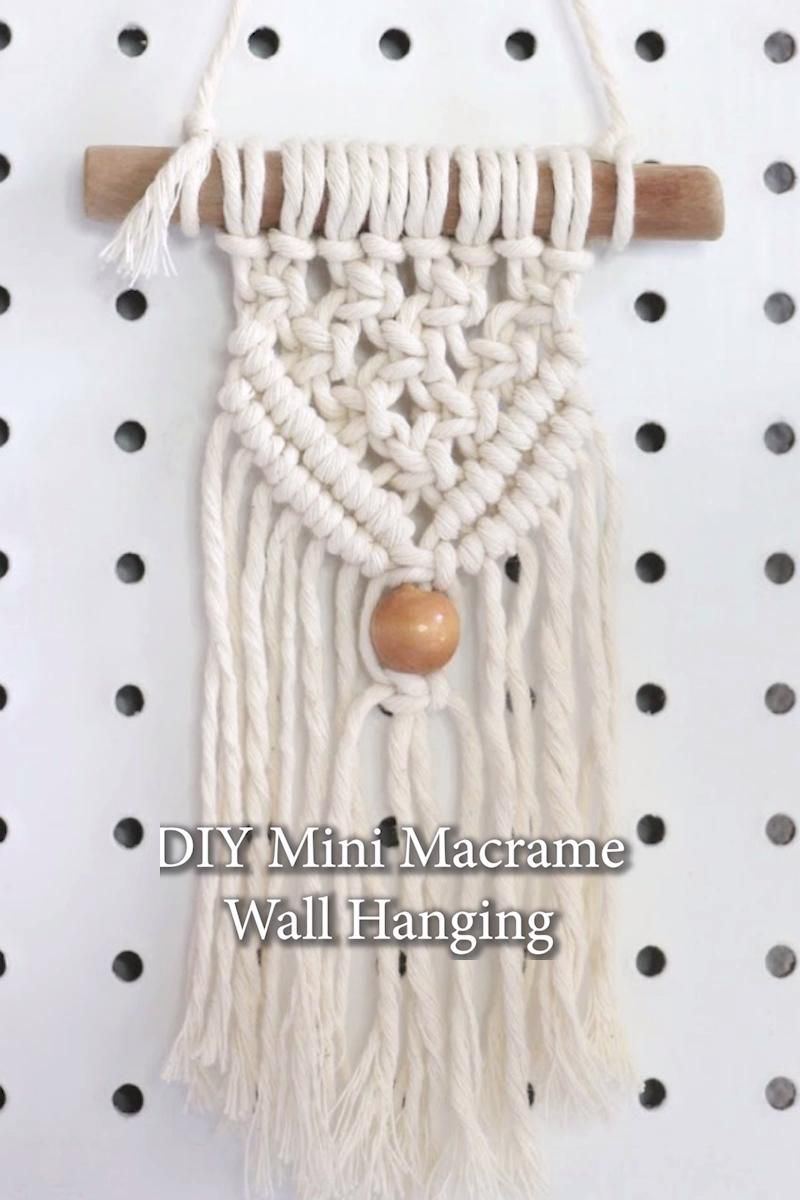 Photo of DIY Macrame Wall Hanging Tutorial