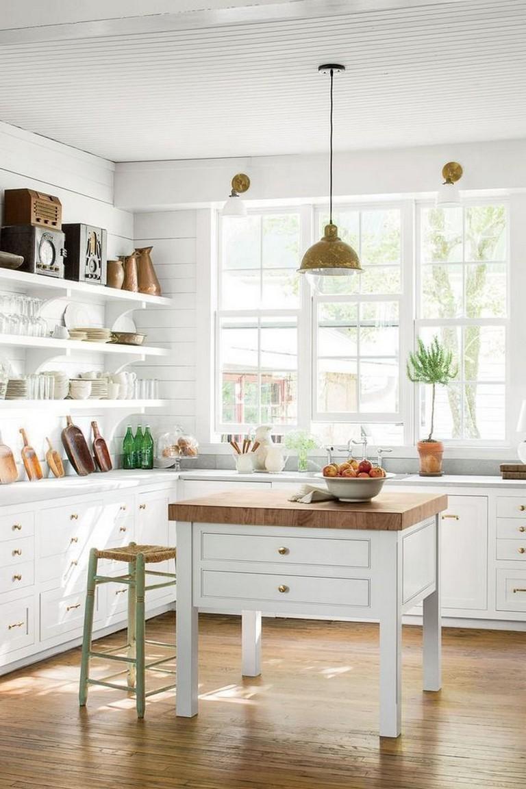 78 astonishing kitchen shelving ideas farmhouse style open cabinets kitchen kitchencabinets on farmhouse kitchen open shelves id=89307