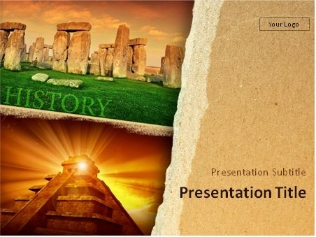 This PowerPoint template will be a great choice for presentations - history powerpoint template