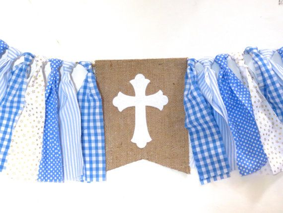 Baptism Banner HighChair High Chair Baptism by ...