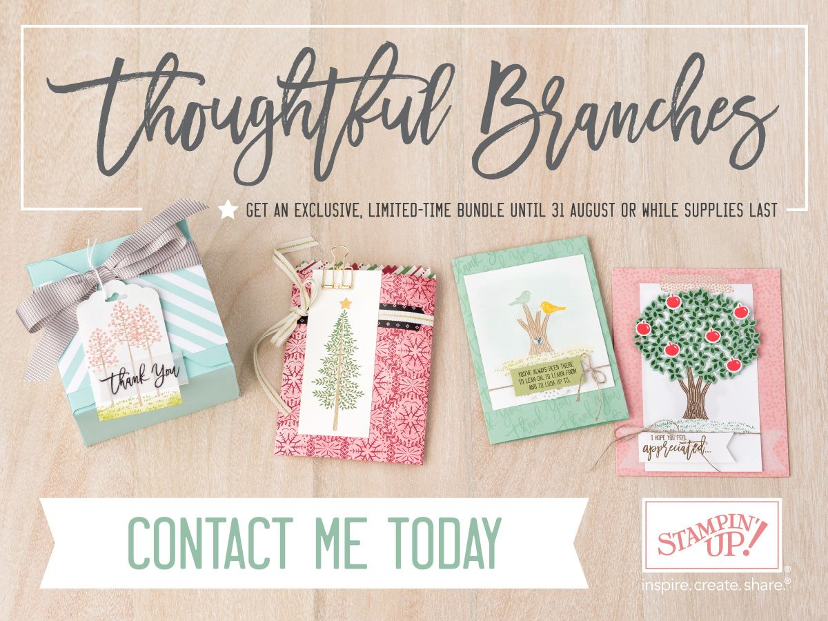 Stampin' Cards and Memories: Thoughtful Branches