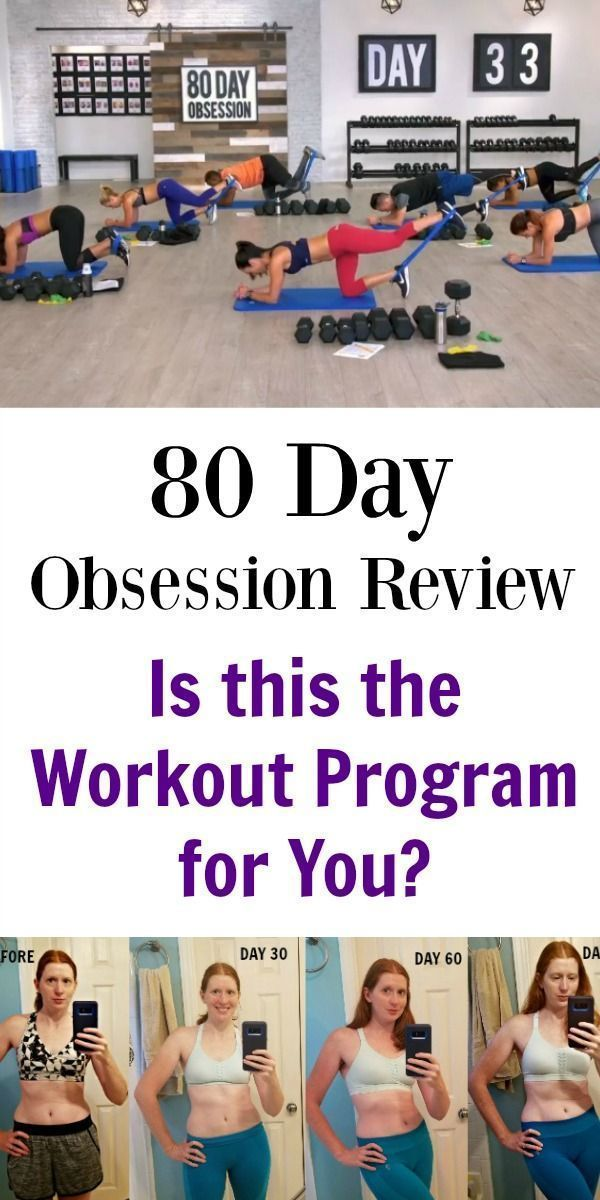 Check out my 80 Day Obsession review with results that include before and after pictures to see if t...