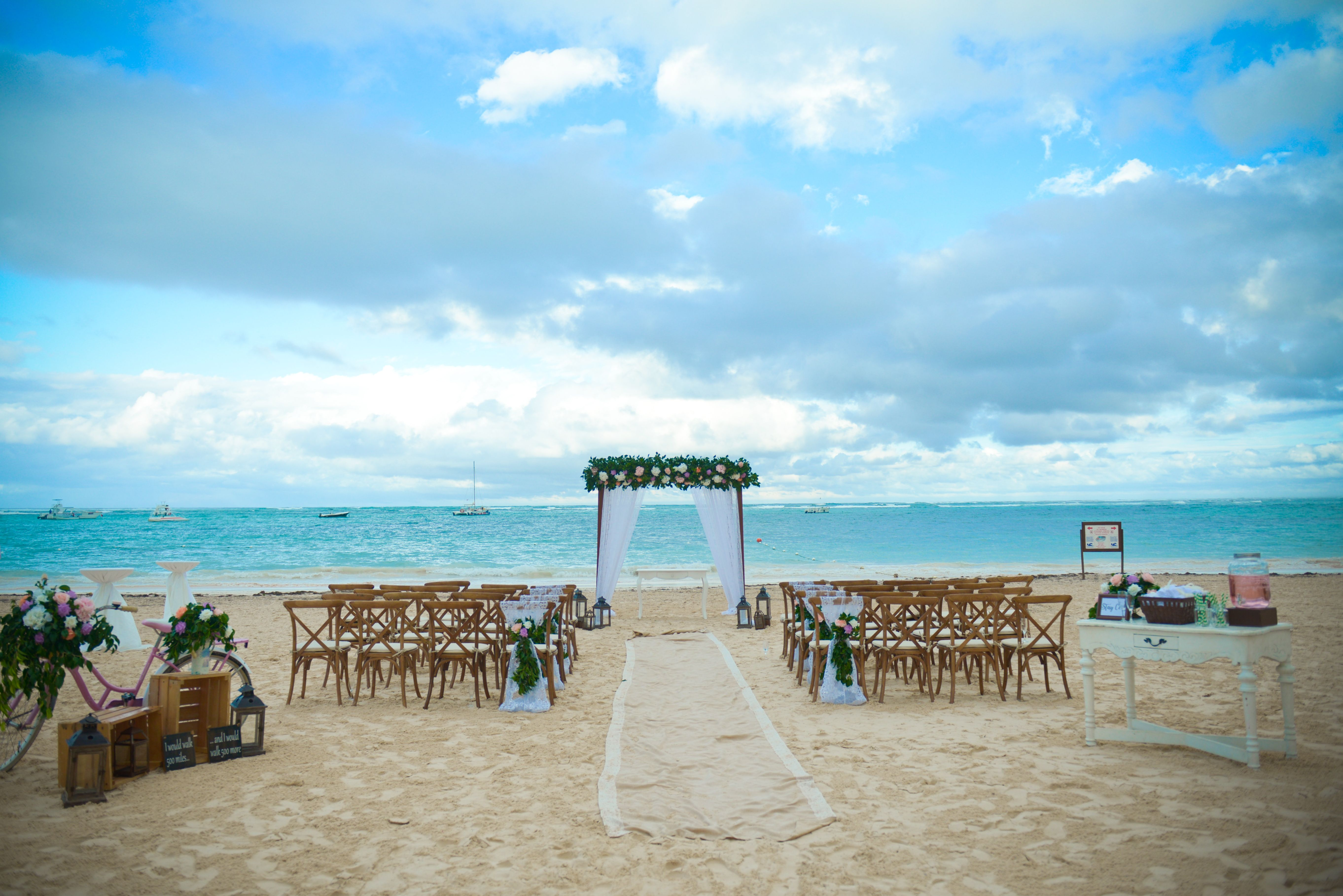 Let The Ocean Be A Guest On Your Wedding Day At Now Larimar Punta Cana We Want To Take Care Of All Of The D Now Larimar Punta Cana Now Larimar