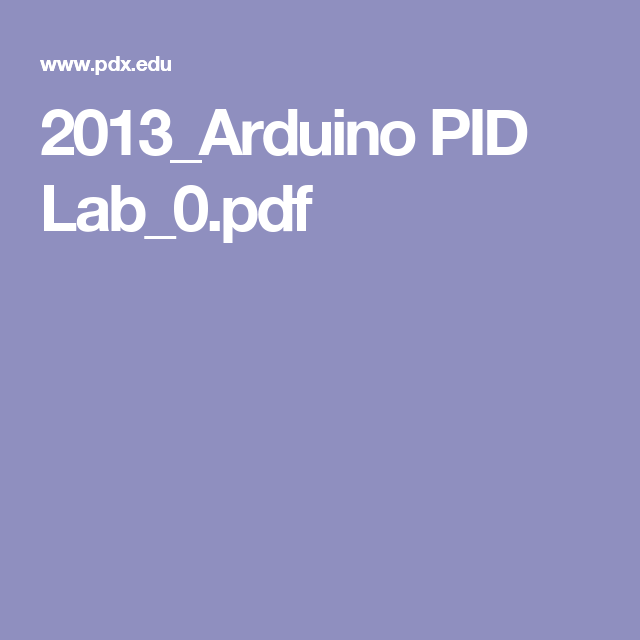 Arduino PID Lab to control an LED - Good code using Millis | PID