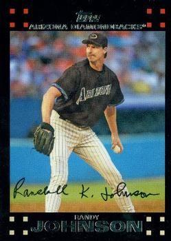 2007 Topps 560 Randy Johnson Baseball Baseball