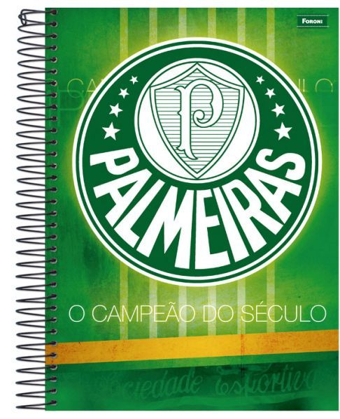 Caderno Univesitário Palmeiras
