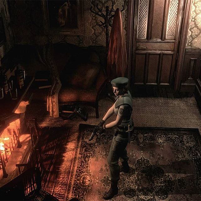 #gaming #screenshotting #gamescreenshot #playing #residentevil #residentevil1 #residenteviljill #jillvalentine #ps4 #playstation4 #games #horrorgames