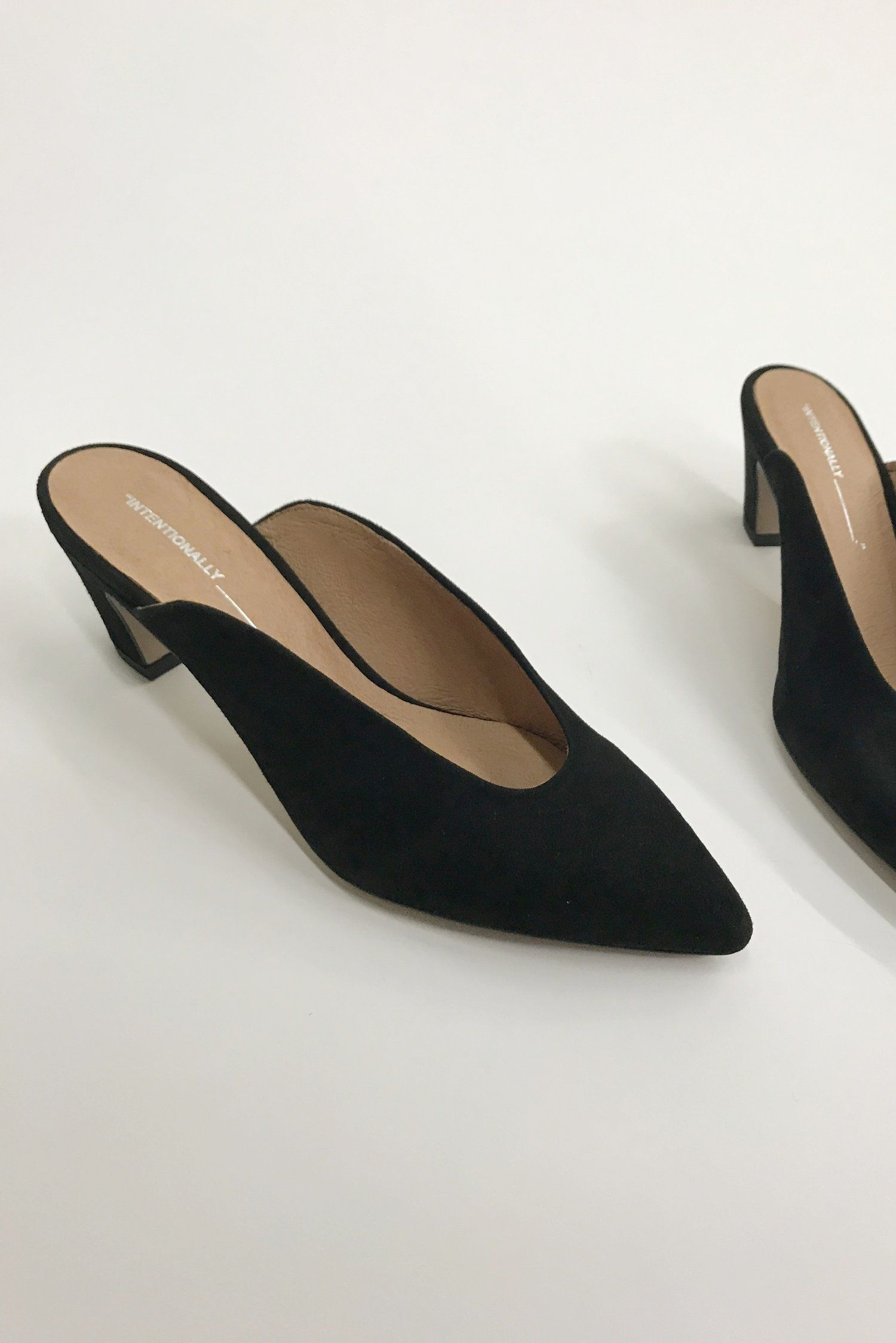 Intentionally BlankPER - Heeled mules - black lAxJBw