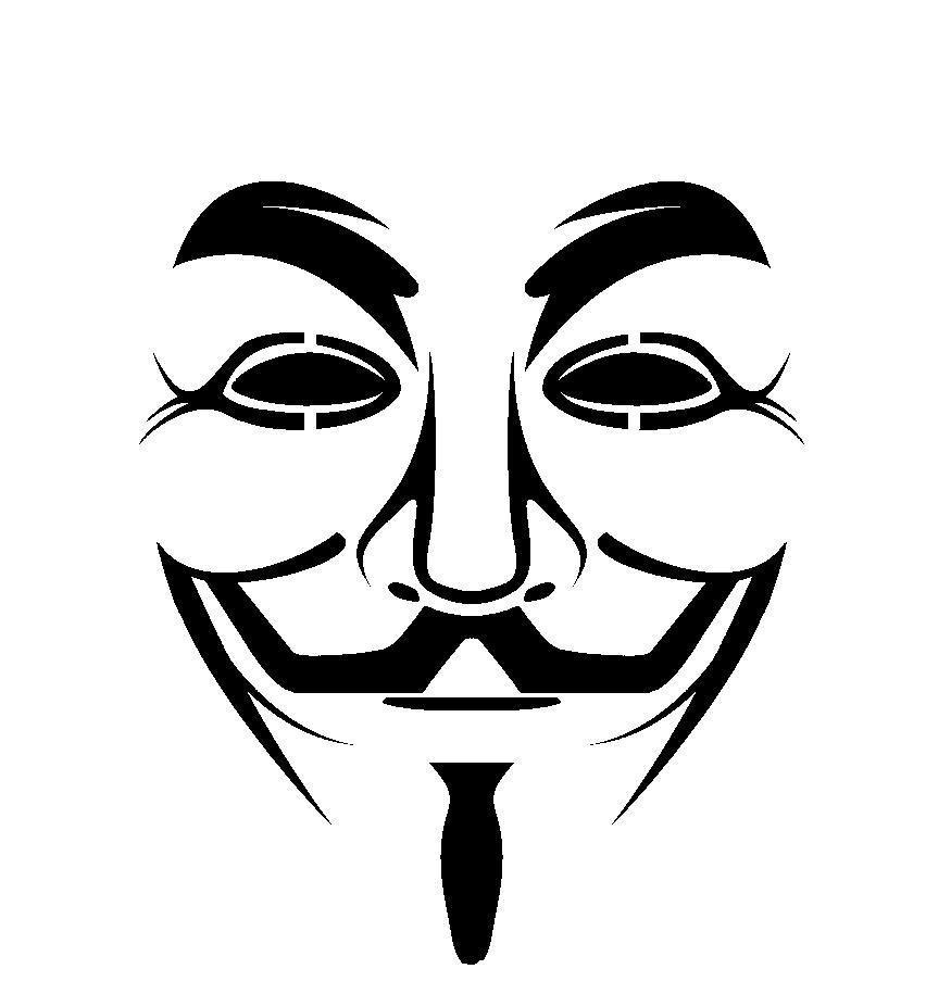 Stencil Musica Buscar Con Google Guy Fawkes Mask