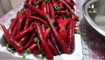 الشطة الحارة او دبس الفليفلة الحار او الهريس مع الشيف ابوصيام Green Beans Food Sausage