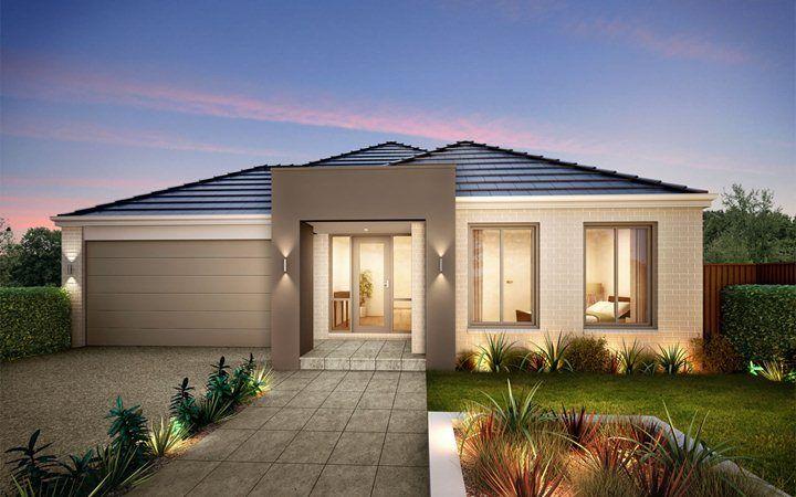 Metricon home designs the ashmore classic facade visit for Home designs victoria