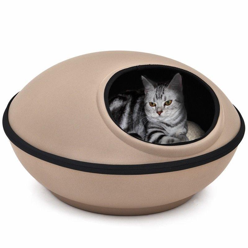 df6ac14dffab Panier chat Lit pour chat Couchage chat Maison chat Ronde Moyen Nid Chats  Chaton
