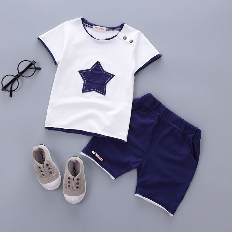 fbabca5706c0 Boys Clothing Summer for 1 -3 Years Old Infant Clothes 2pcs in 2019 ...