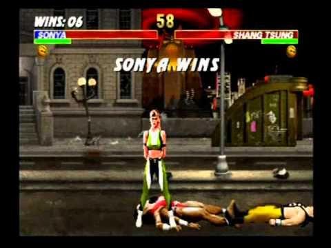 Ultimate Mortal Kombat 3 - Sonya Blade | Mortal Kombat