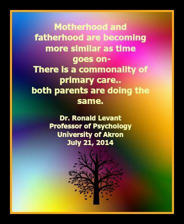what does it mean to be a father author dr ronald levant
