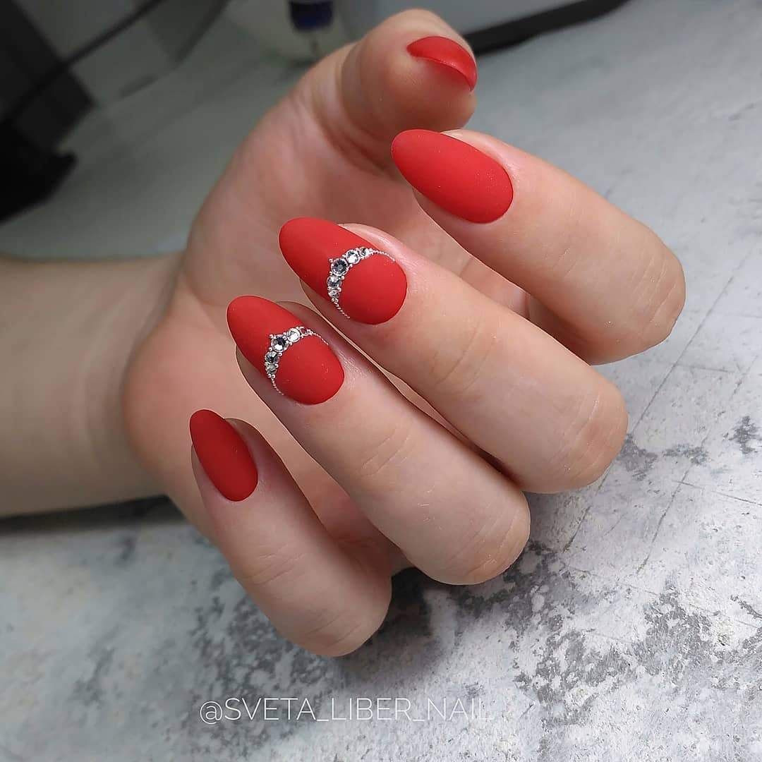 Red Manicure 2019 2020 20 New Extraordinary Season Manicure