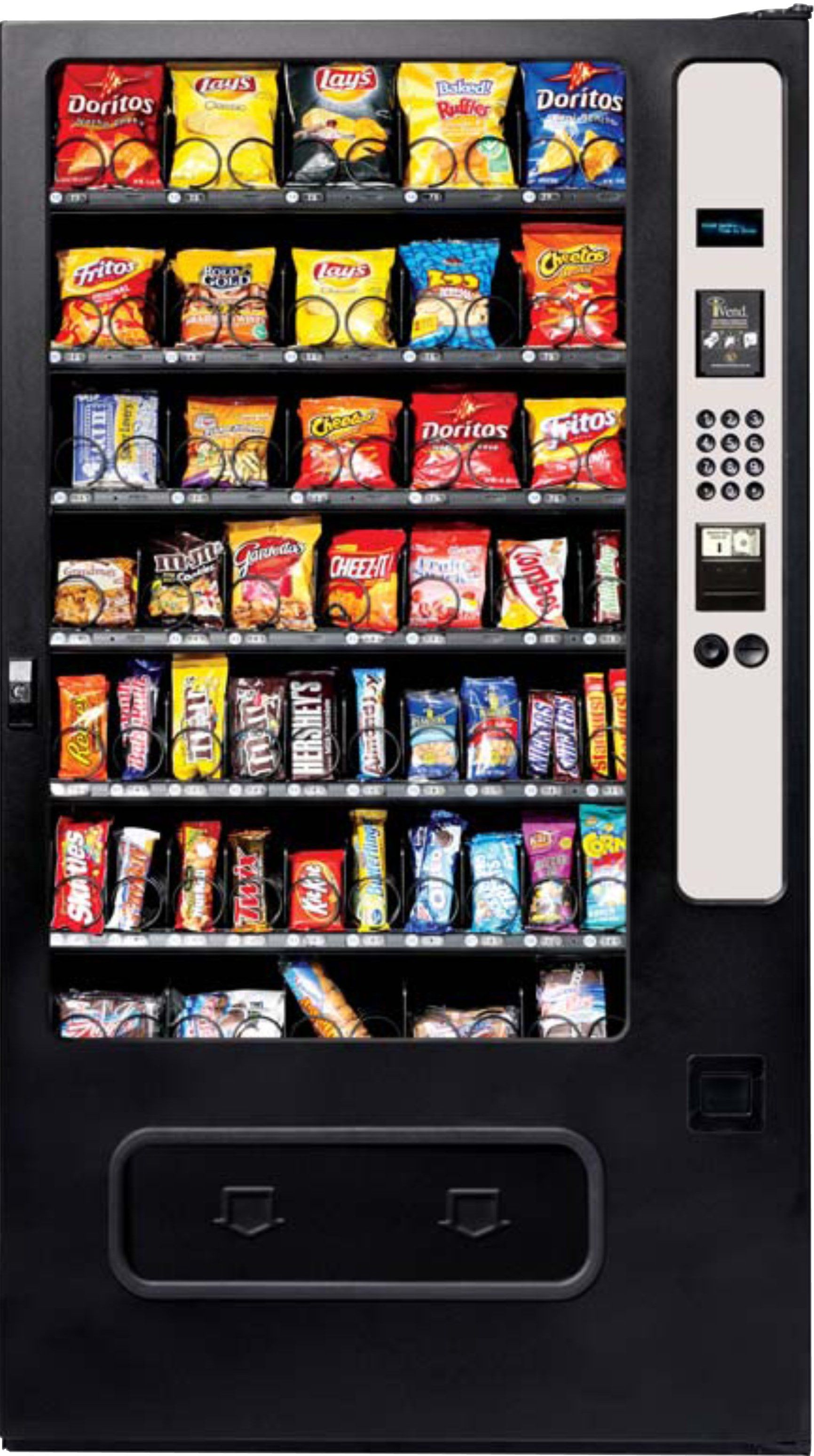Consider Starting A Vending Machine Business Snack Drinks Ice