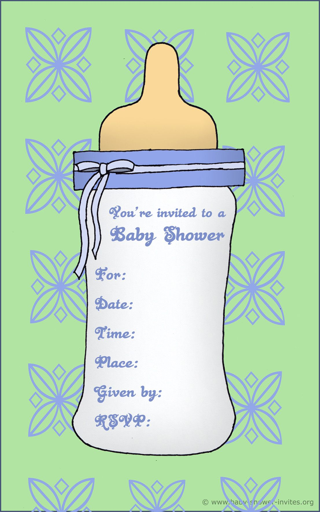 baby shower templates word – Baby Shower Templates Word
