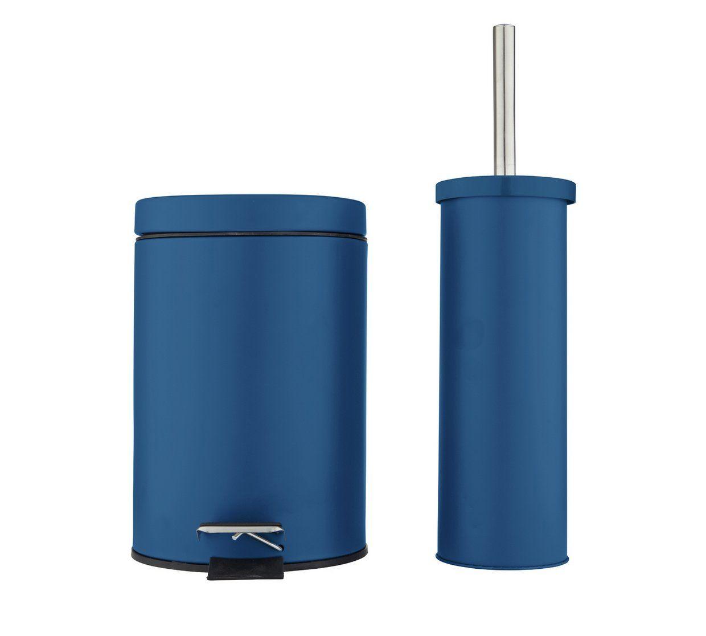 Buy Argos Home Slow Close Bin Toilet Brush Set Ink Blue Bathroom Sets And Fittings Argos Blue Bathroom Accessories Argos Home Toilet Brush