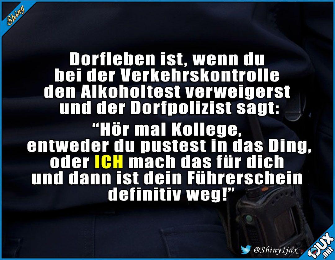 Polizisten Haben Auch Humor P Lustige Zitate Und Spruche Witzige Spruche Lustige Spruche