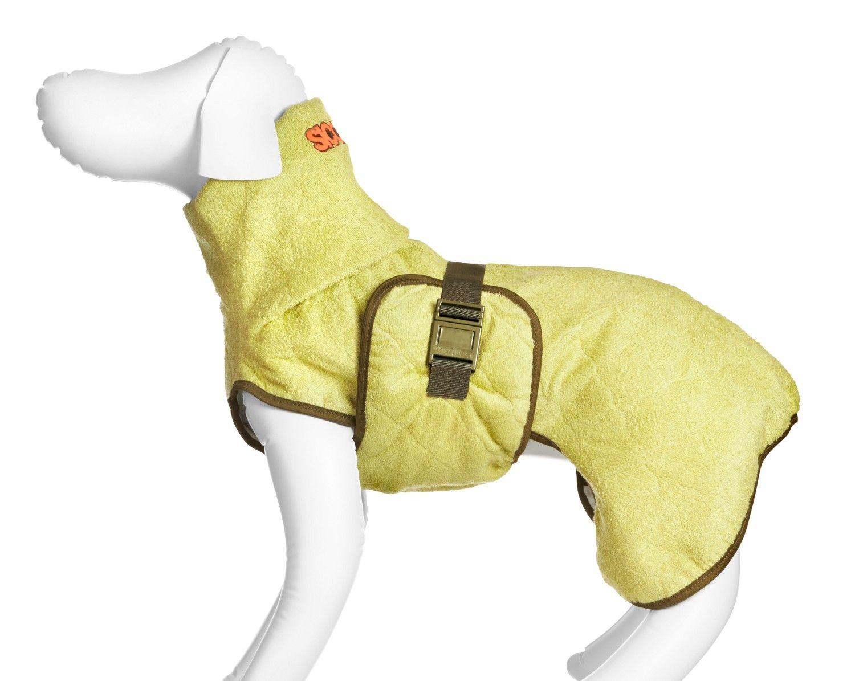 Hundemantel classic bamboo #dog #hund #trockenmantel #nasserhund ...