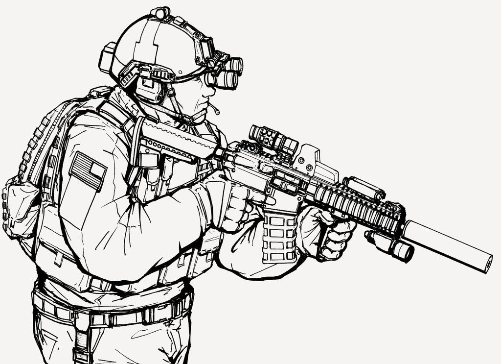 12062013 by ThomChen114 on DeviantArt Military drawings