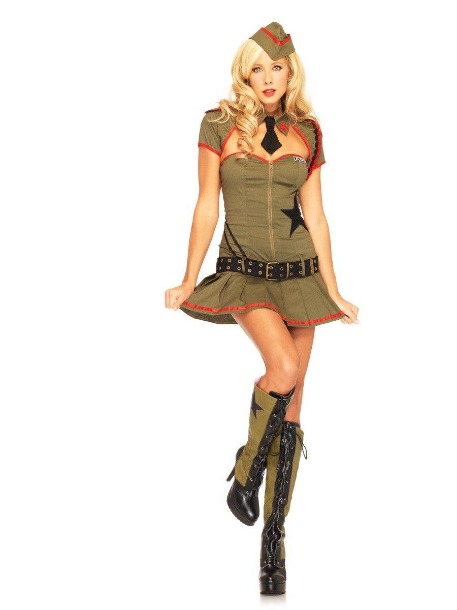 Military Girl Costume :)