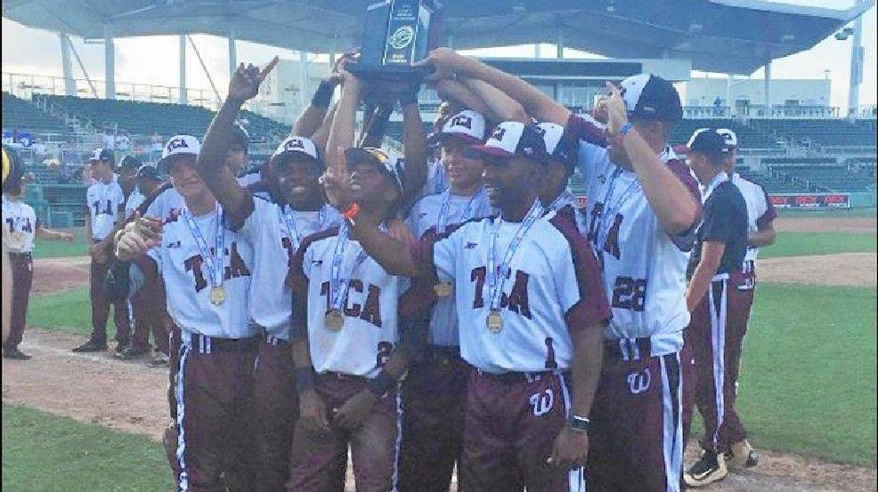 Trinity Christian Wins Baseball State Title By Mercy Rule Trinity Christian High School Sports