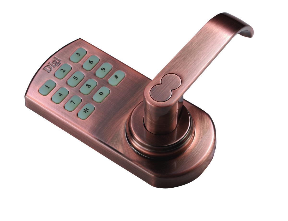 Details about Electronic Digital Doorlock Mechanical Key