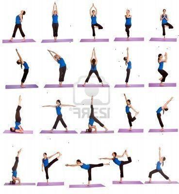 lätta yogaställningar | Y O G A | Träning, Yoga och Pilates