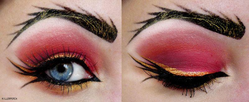 Image result for gryffindor makeup
